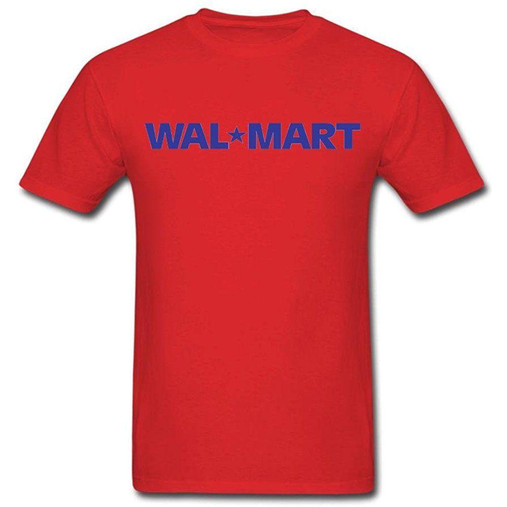 BlueSage Wal Mart Men's T Shirt XRed [tMen_02278] $17.90