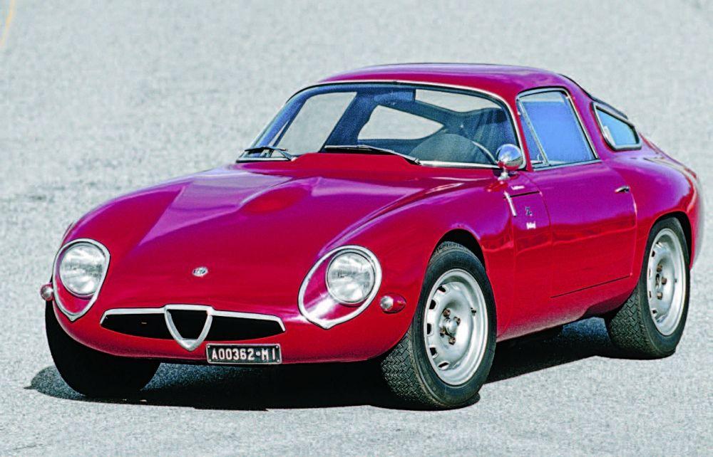 Alfa Romeo Giulia TZ (1963) #alfa #alfaromeo #italiandesign