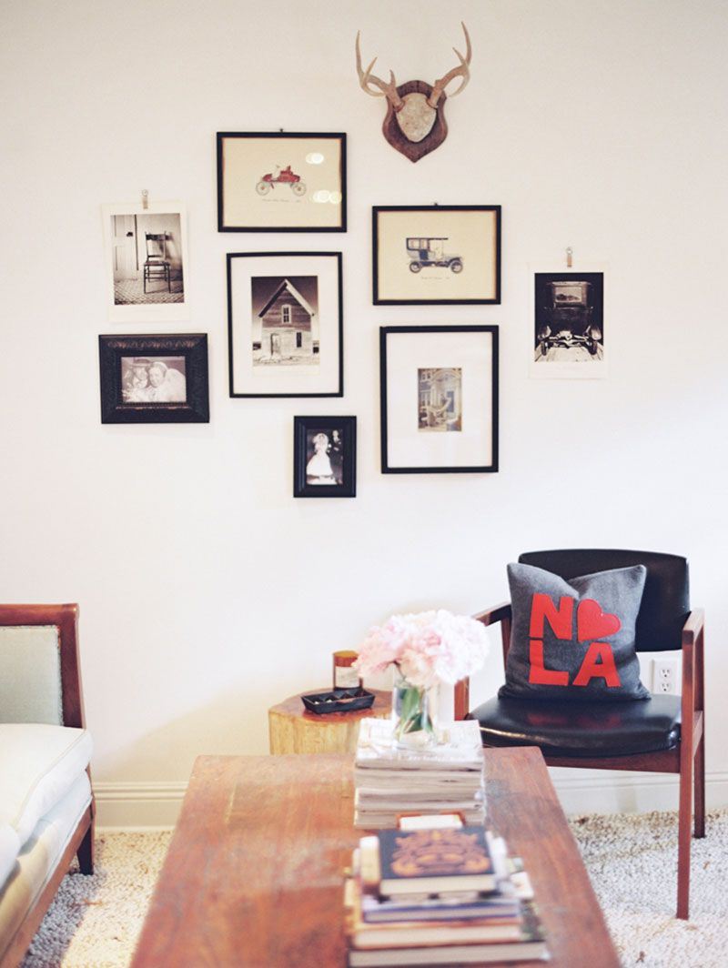 Gallery Wall With Personality   Julia Hohneu0027s New Orleans Home Tour  #hometour #gallerywall # · Room DecorDecoration SalonWall ...