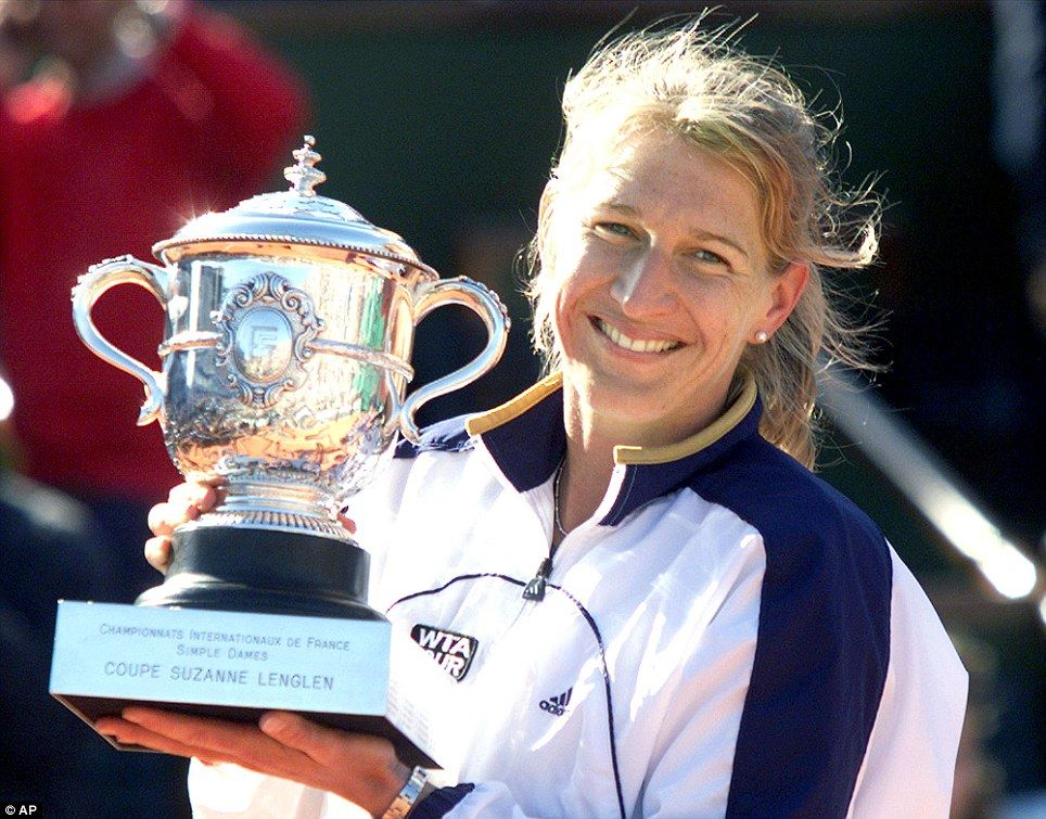 Steffi Graf Won The Last Of Her 22 Grand Slam Singles Titles At Roland Garros In Solo Deportes Deportes