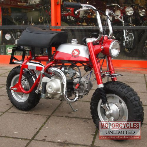 Honda Z50a Monkey Bike For Sale Sold Car And Motorcycle