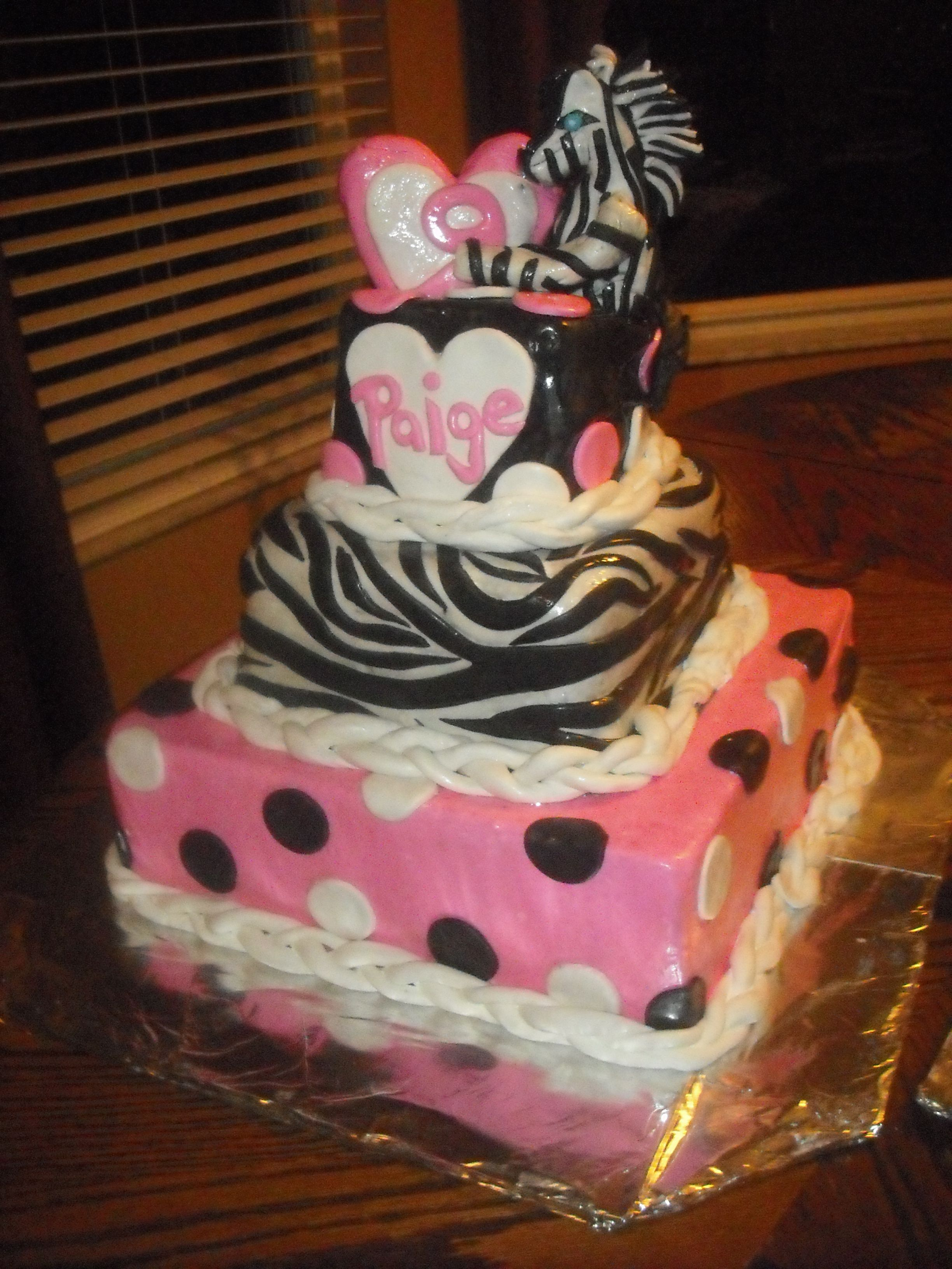 Paiges 9th Birthday Cake Cakes made by Neti Castilla