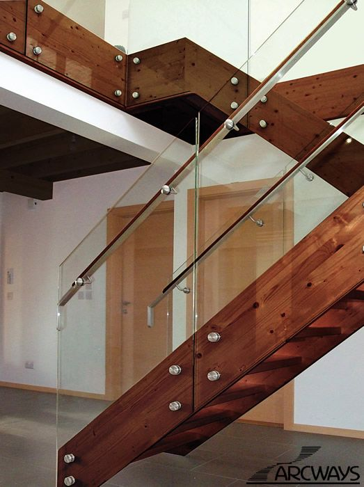 Best Glass Staircase Glass Stair Railing Glass Panels For 400 x 300