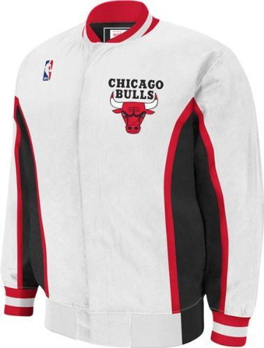 NBA Mitchell & Ness Chicago Bulls Vintage WarmUp Jacket