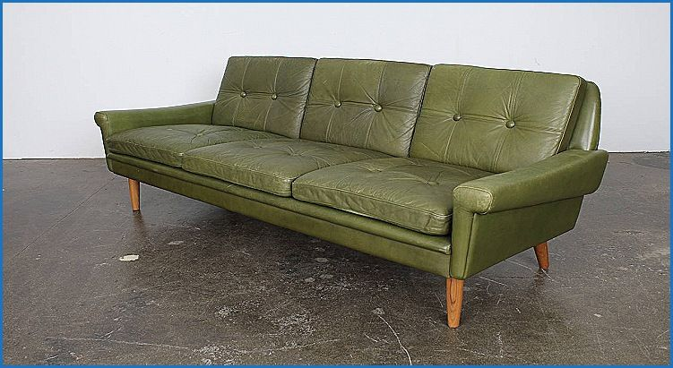 Luxury Green Faux Leather Sofa Furniture Design Ideas Compilation