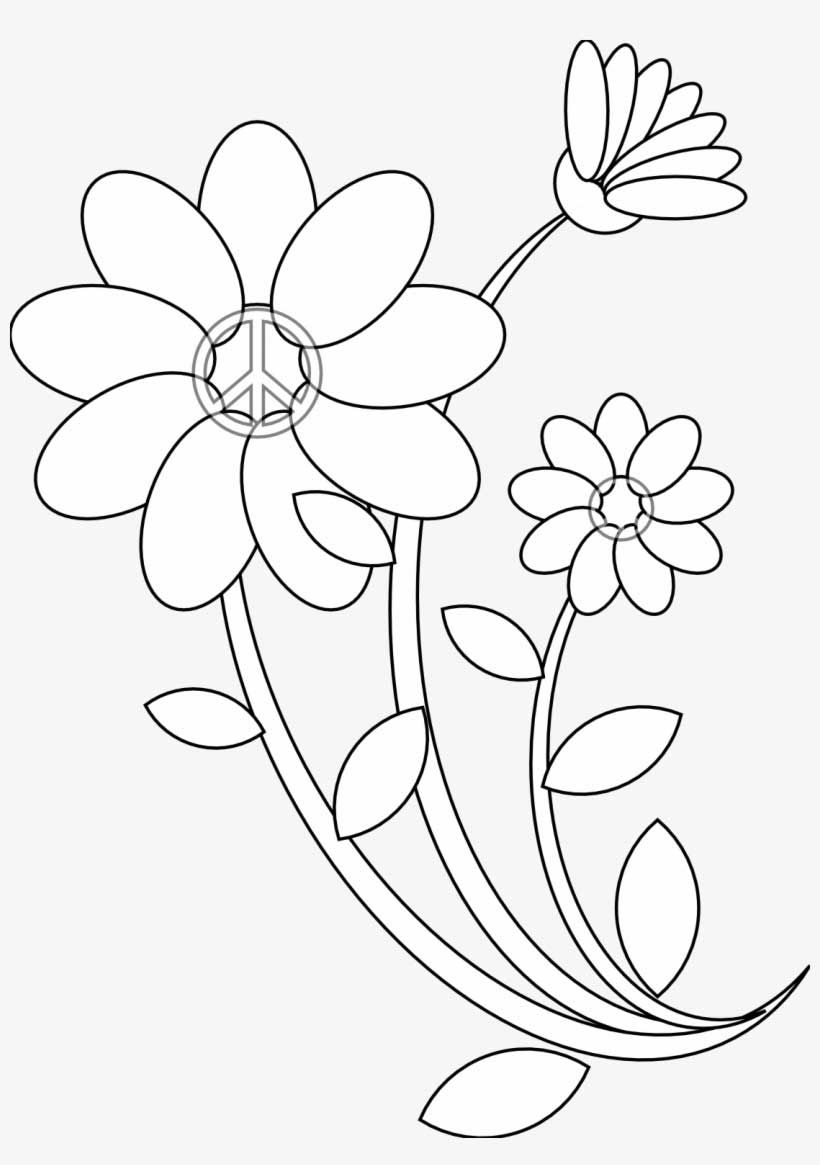25 Beginner Floral Embroidery Patterns You Can Try Floral Embroidery Patterns Flower Drawing Designs Coloring Books