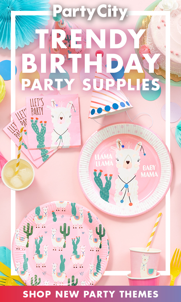 Shop New Birthday Party Themes Available Now At Party City Girls Birthday Party Themes Backyard Birthday Parties Birthday Party Themes