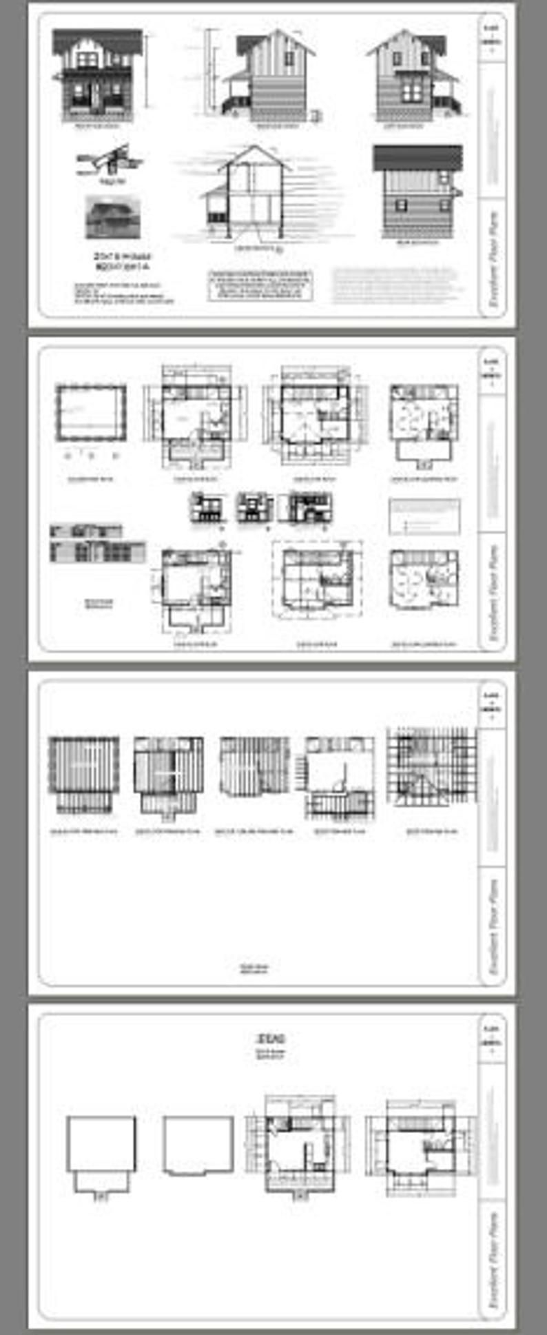 20x16 House 1Bedroom 1.5Bath 547 sq ft PDF