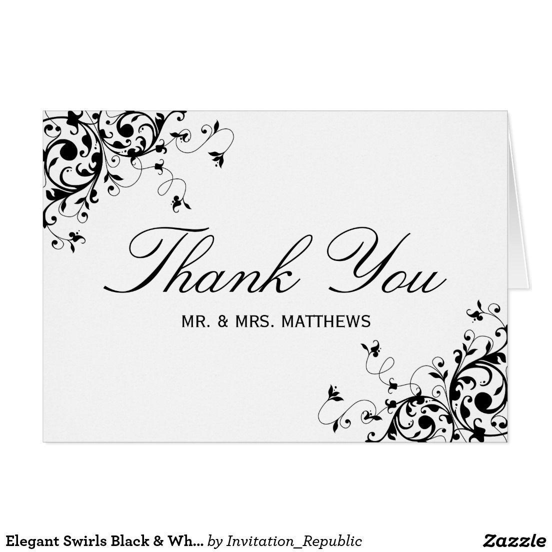 Create Your Own Card Zazzle Com Wedding Thank You Cards Wedding Thank You Wedding Cards
