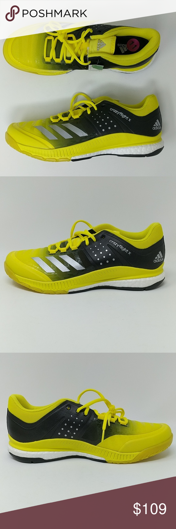 new product af6df 82538 Adidas Womens Crazyflight X Volleyball Shoes NEW New without box. Womens  size 11. Price is firm. BA9267. adidas Shoes Athletic Shoes