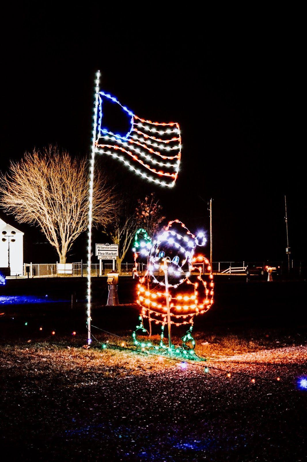 Drive Through the Shipshewana Lights of Joy This Holiday