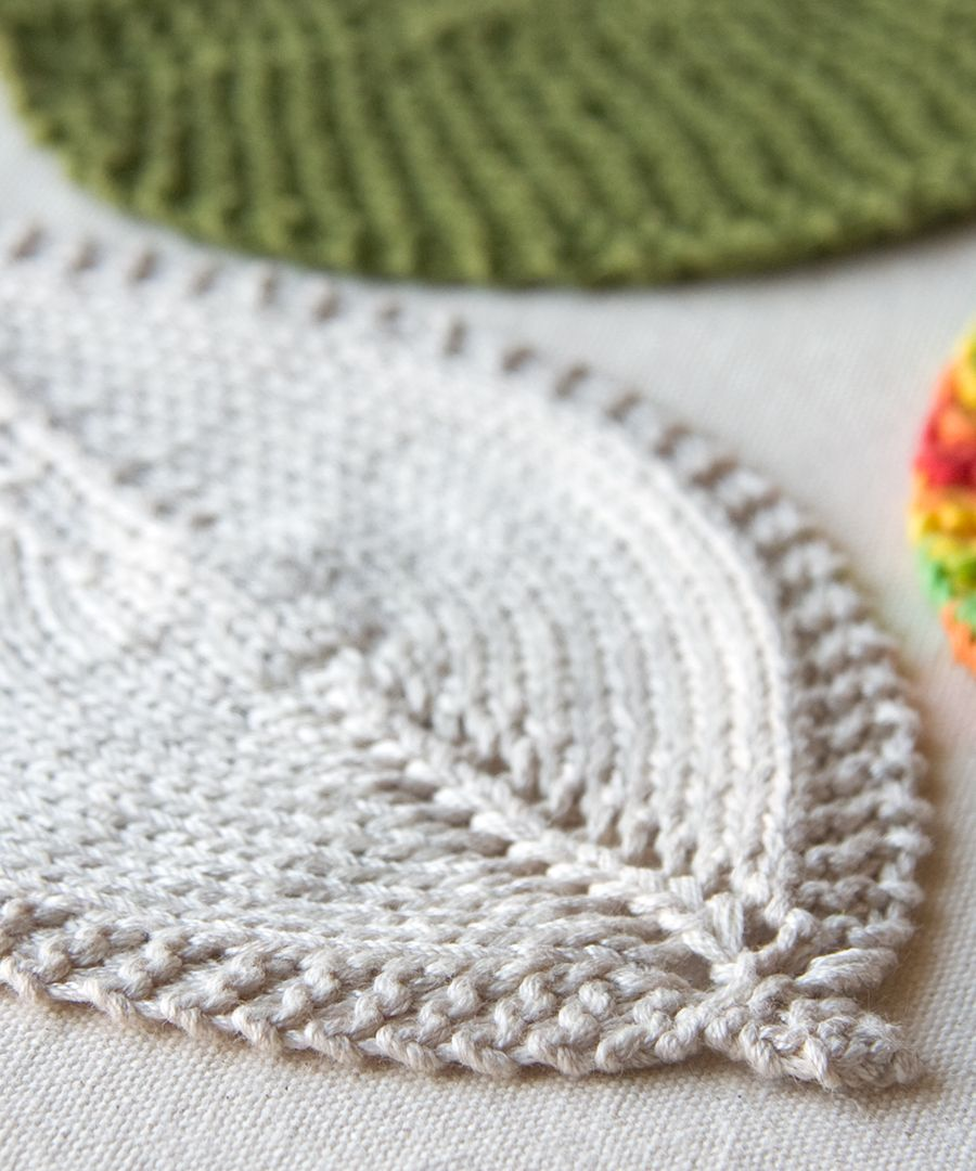 Tricksy+Knitter+-+Leafy+Washcloth | Craft Ideas | Pinterest ...