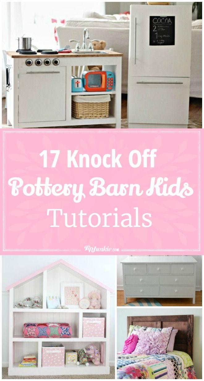 17 Pottery Barn Kids Knock Off Tutorials Pottery Barn Kids