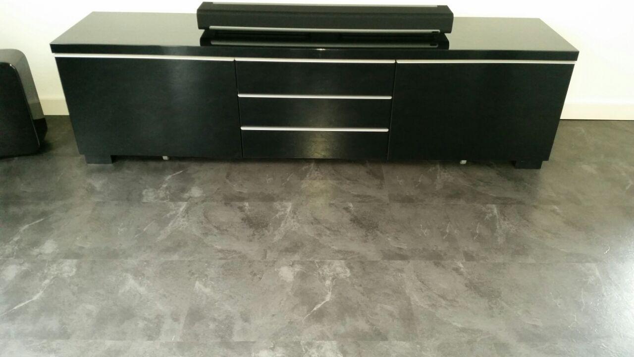 Vinyl Steigerhout Look : Designboden in schieferoptik im metallic look marcolueck