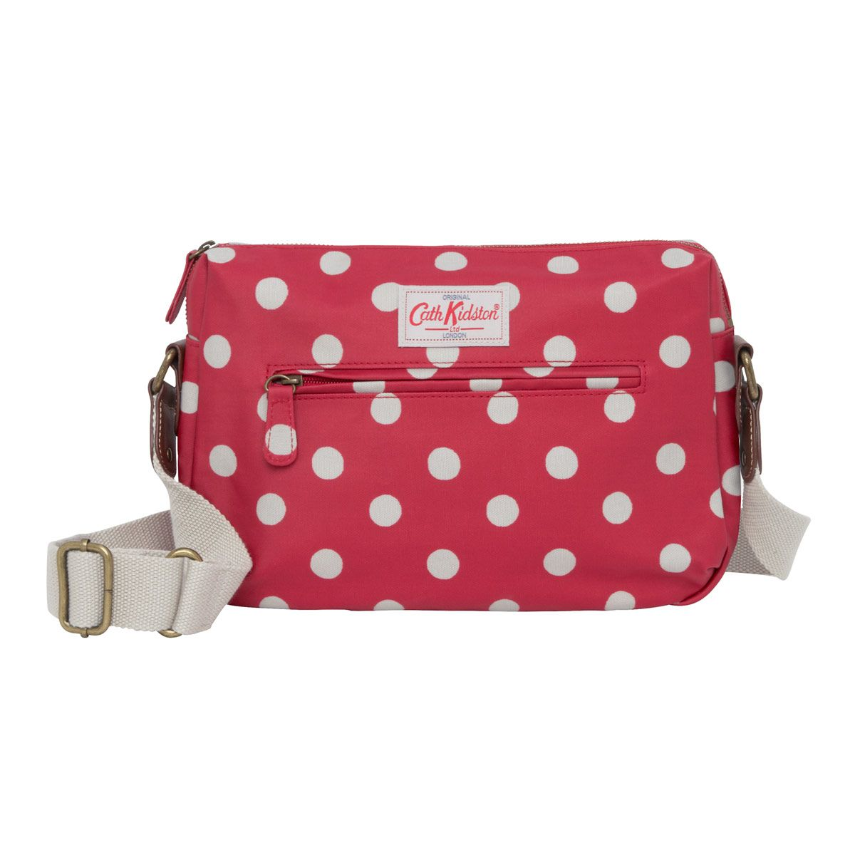 great quality search for latest skilful manufacture Cross Body Bags | Button Spot Double Zip Bag | CathKidston ...