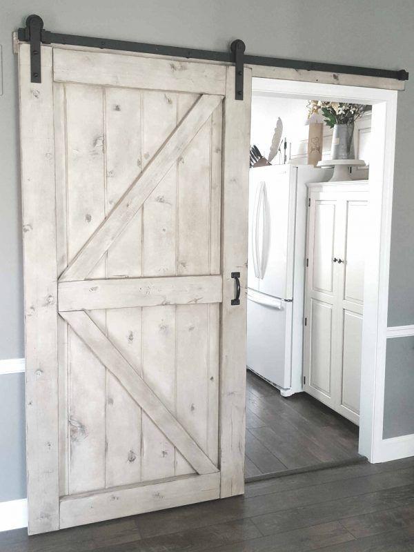 Gray Wash Barn Door Sliding 2 Panel Z Style In 2020 Diy Sliding Barn Door Barn Door Designs Home Door Design