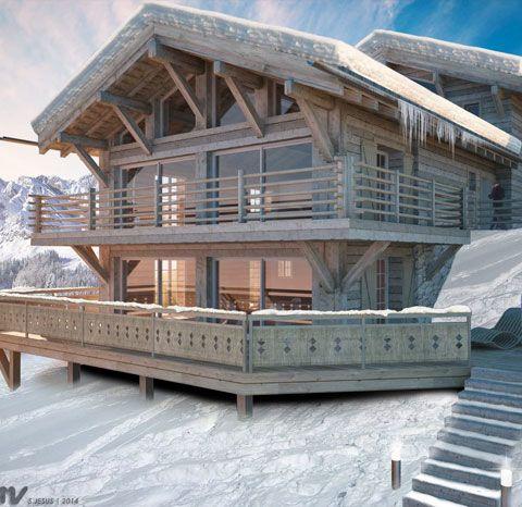 Chalet suisse architecture recherche google wille pinterest chalets - Construction de chalet ...