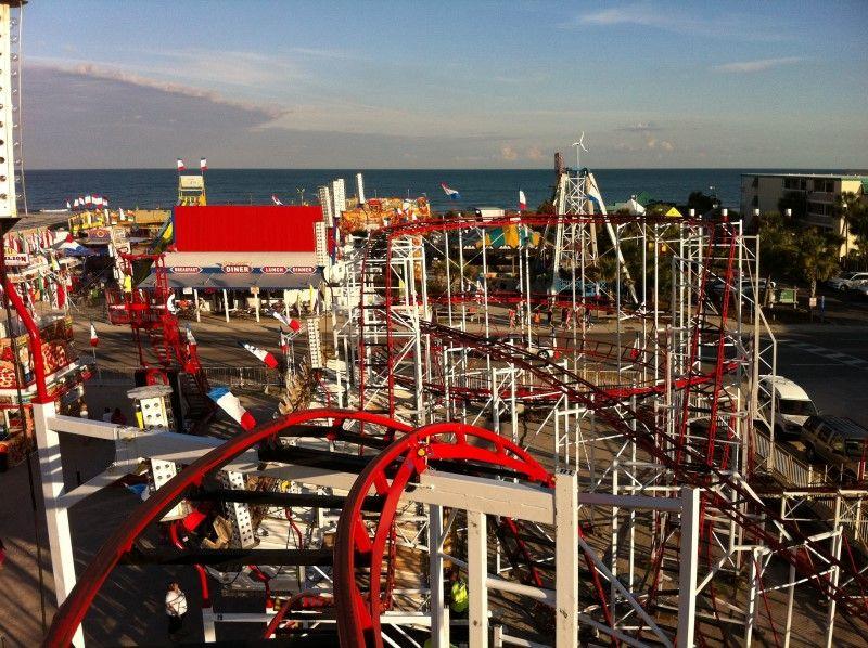 Zyklon Roller Coaster O D Pavilion And Amut Park North Myrtle Beach South Carolina