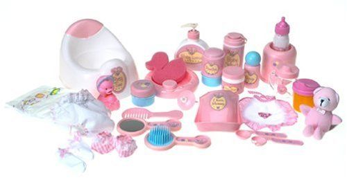 You & Me: Baby Doll Care Set - Accessories in Bag by You & Me, http://www.amazon.com/dp/B00009AVLZ/ref=cm_sw_r_pi_dp_igELqb1KGGJ5H