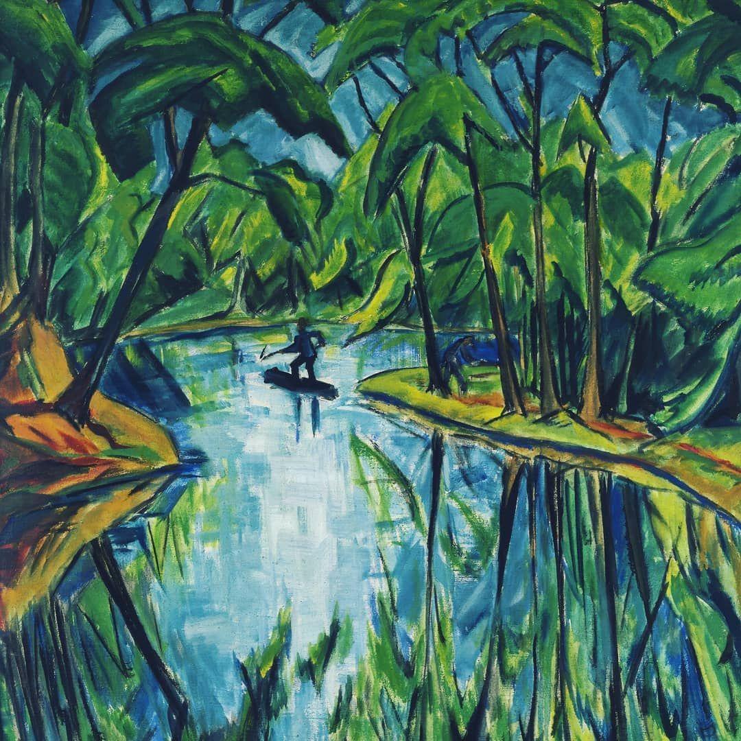 Heckelgrun 15shadesofgreen Painting Art
