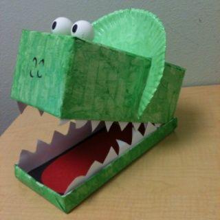 Make Dinosaur Valentine Box Gift
