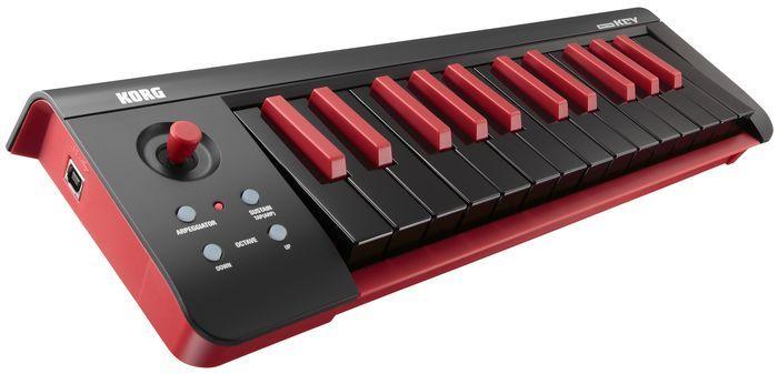 microKEY25 USB MIDI Keyboard Black Midi keyboard