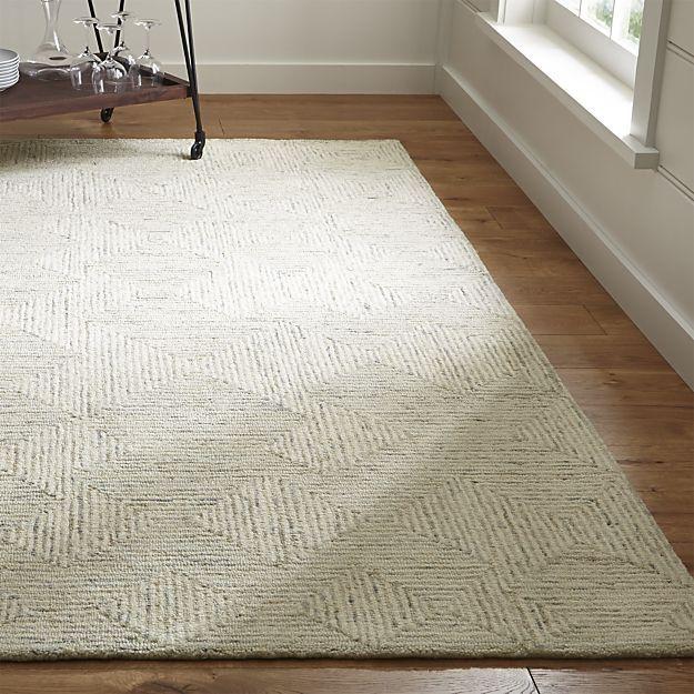 Presley Neutral Heathered Rug Crate And Barrel Neutral Rug Living Room Geometric Rug Rugs #rugs #on #carpet #living #room