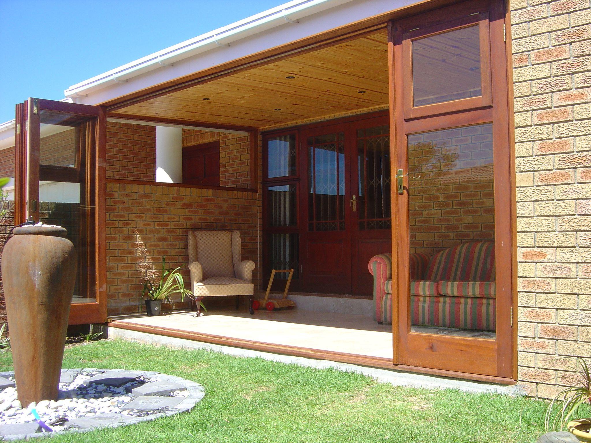 Folding windowdoor- door and window in one, visit www.doorsystems.co ...