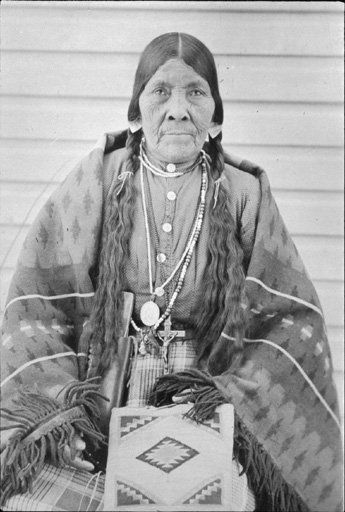 Susan Lawrence - Coeur d'Alene - no date, I'm a Coeur d'Alene Tribal member so this is nice to see this picture, I don't know her or of her.
