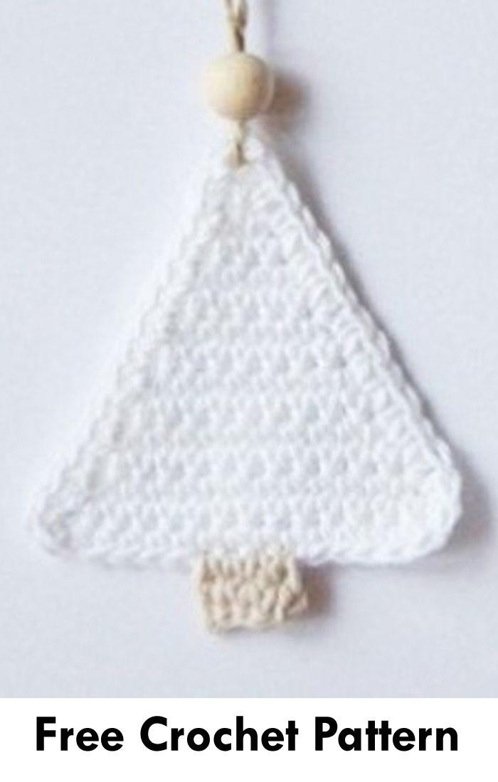15 Free Christmas Tree Applique Crochet Patterns Crochet Xmas Crochet Tree Crochet Christmas Trees