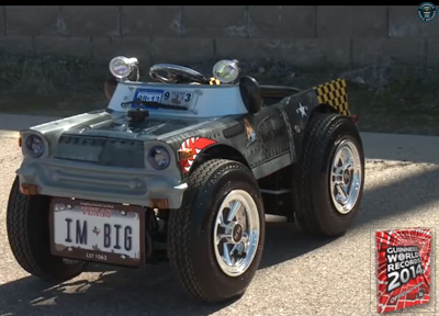 Smallest Car In The World Tiny Texas Street Legal Gains Guinness Nod News Trends Ph