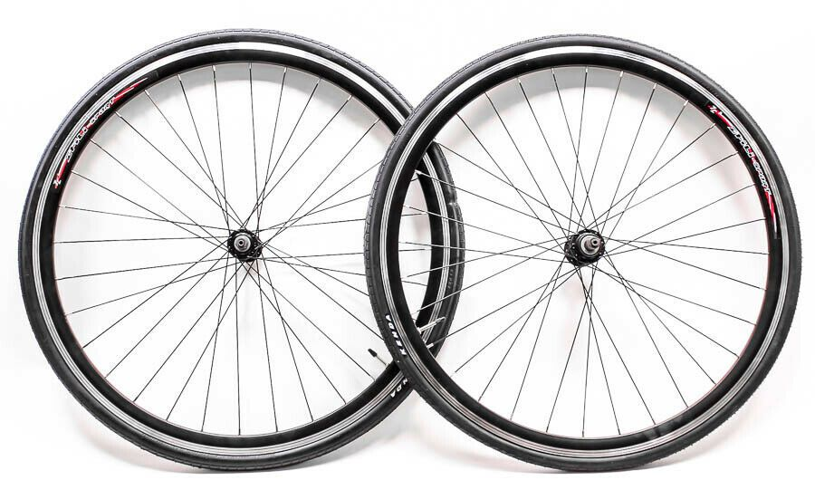 Sponsored Ebay 700c Aluminum Road Bike Wheelset Freewheel