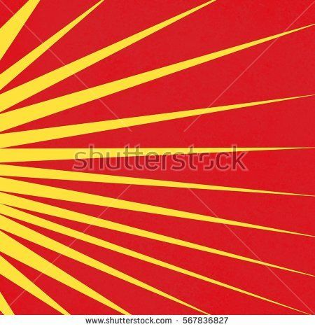 not art deco but sort of the level of red to yellow I was picturing in a sunburst.