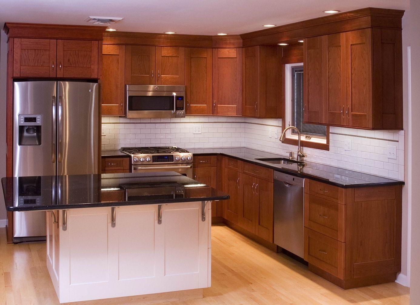 Cherry kitchen cabinets remodeling ideas pinterest cherry