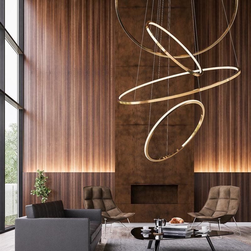 Pin By Kate Chen On Coffee Bar Modern Led Lighting Lobby Design Modern Interior