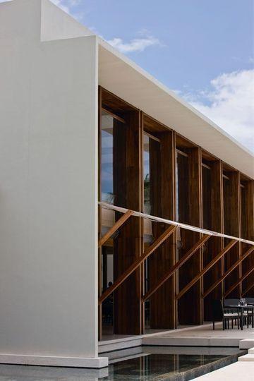 Park Hyatt Hadahaa  des villas sur pilotis Le béton, Le mariage