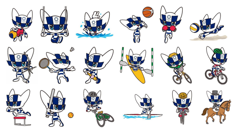 Tokyo 2020 unveils mascot images representing Olympic