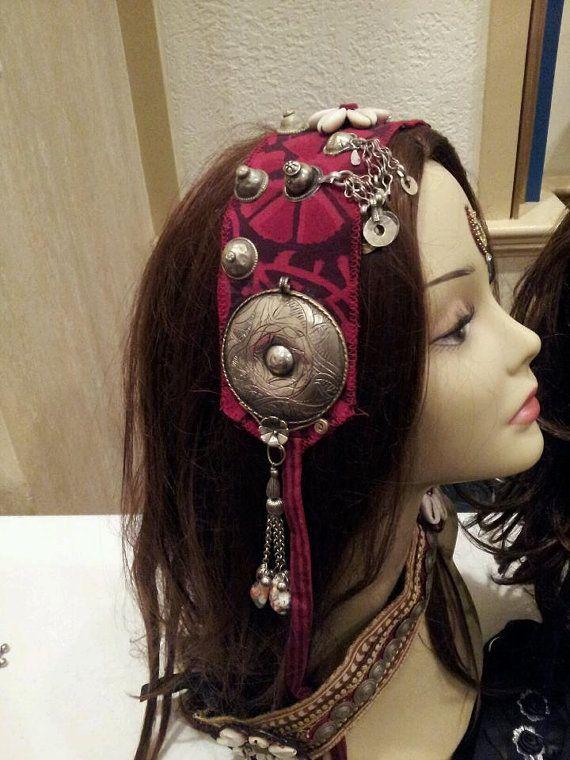 Headpiece headband tribal fusion bellydance by MagicalFashions57