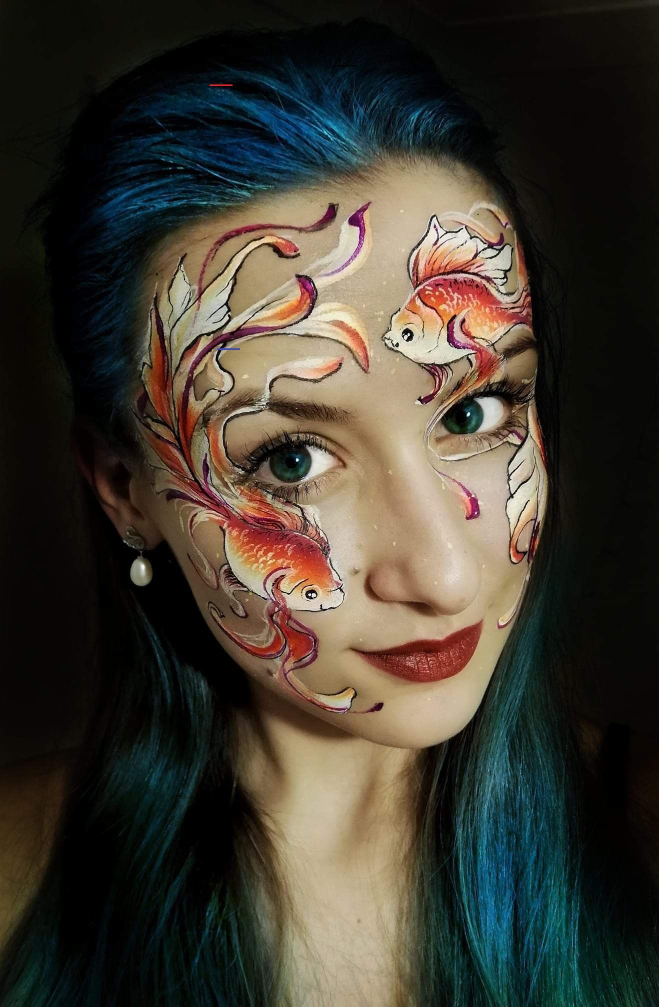 dollfacepainting in 2020 Face painting halloween, Face