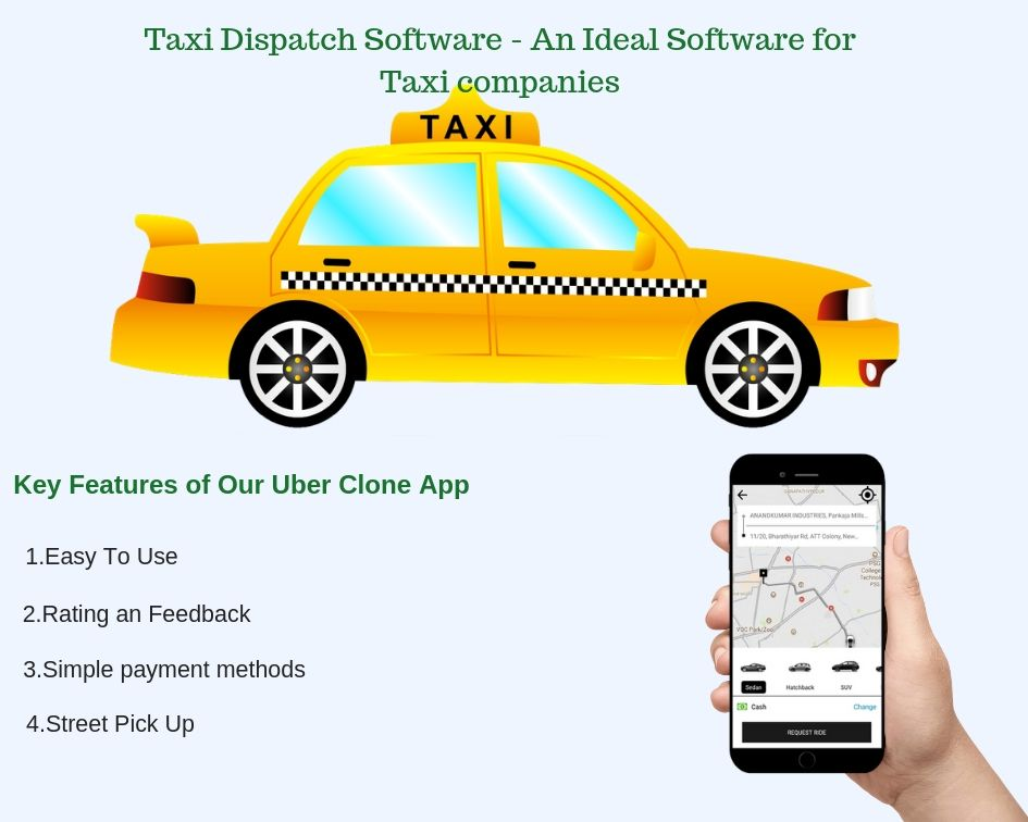 UnicoTaxi Provides a white label taxi application to handle