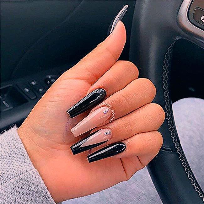 Photo of 42 Chic Acrylic Coffin Nails Art Designs And Ideas In 2020