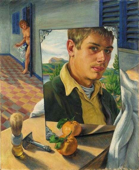 Paul Cadmus. Self portrait    1930