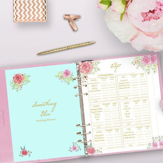 Printable Wedding Planner, Wedding Planner Printable Use these