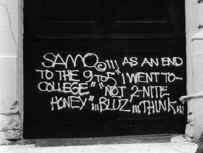 Thou Art History SAMO quotes by Jean Michel Basquiat