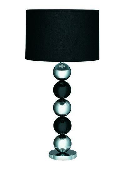 Stolní lampa SEARCHLIGHT SL 2038CC | Uni-Svitidla.cz Moderní pokojová #lampička vhodná jako doplňkové osvětlení domácnosti či kanceláře #modern, #lamp, #table, #light, #lampa, #lampy, #lampičky, #stolní, #stolnílampy, #room, #bathroom, #livingroom