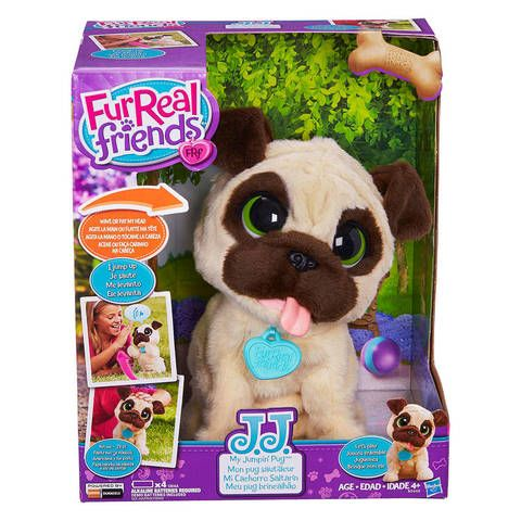 Lisa Getting Sasha Furreal Friends Jj My Jumpin Pug Pet Target