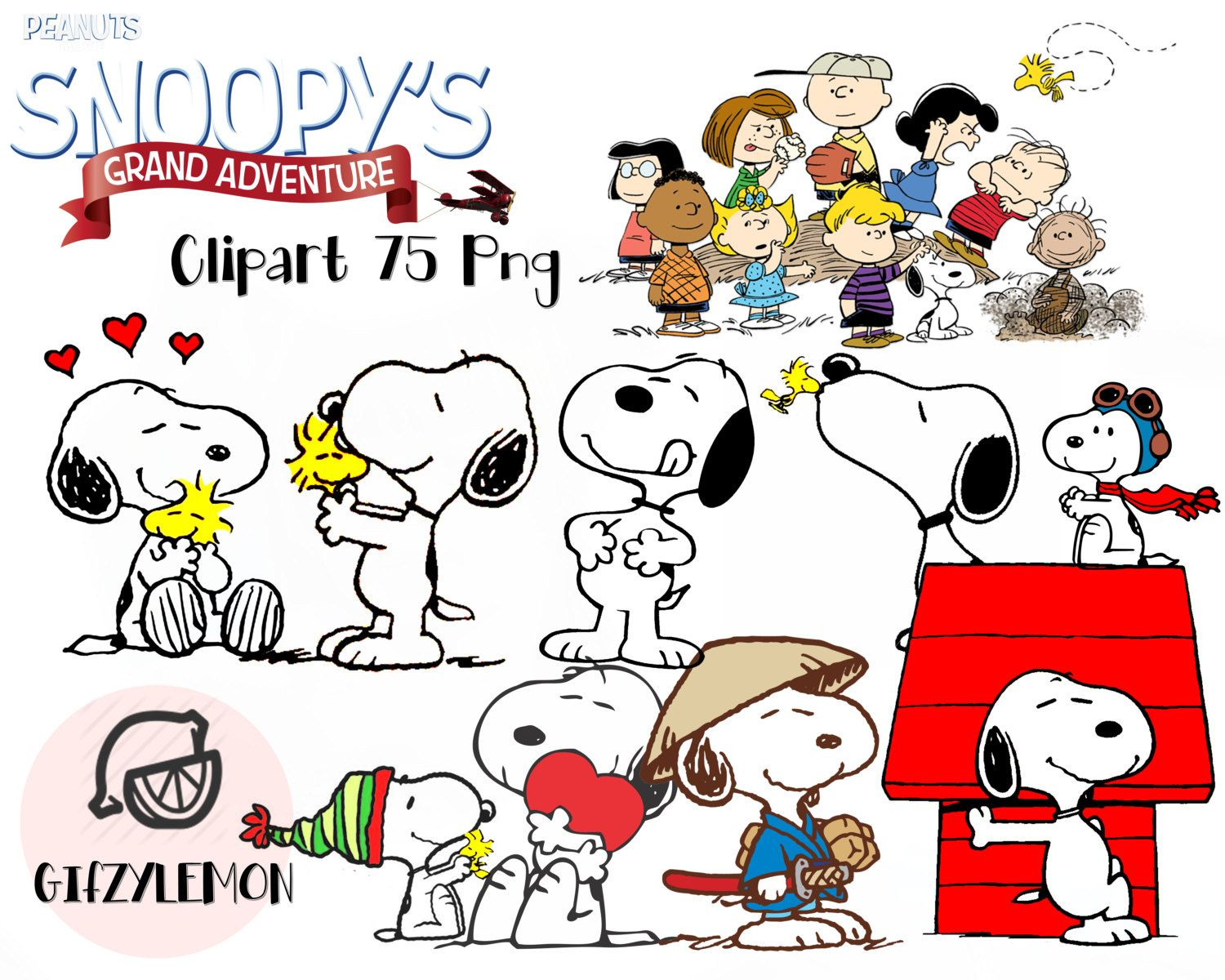 Snoopy and Charlie brown Clipart 75 PNG High Resolution Disney ...