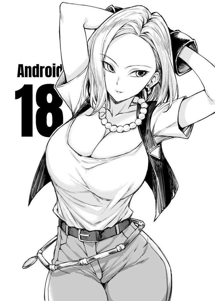 Android 18 | Goku | Pinterest | Dragon ball, Dragones y Chica dragón