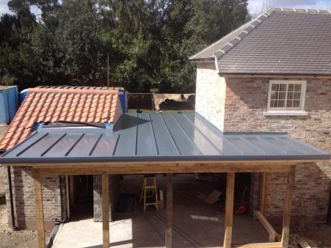 Best Ridged Resin Roof For Extension Flat Roof Flat Roof 400 x 300