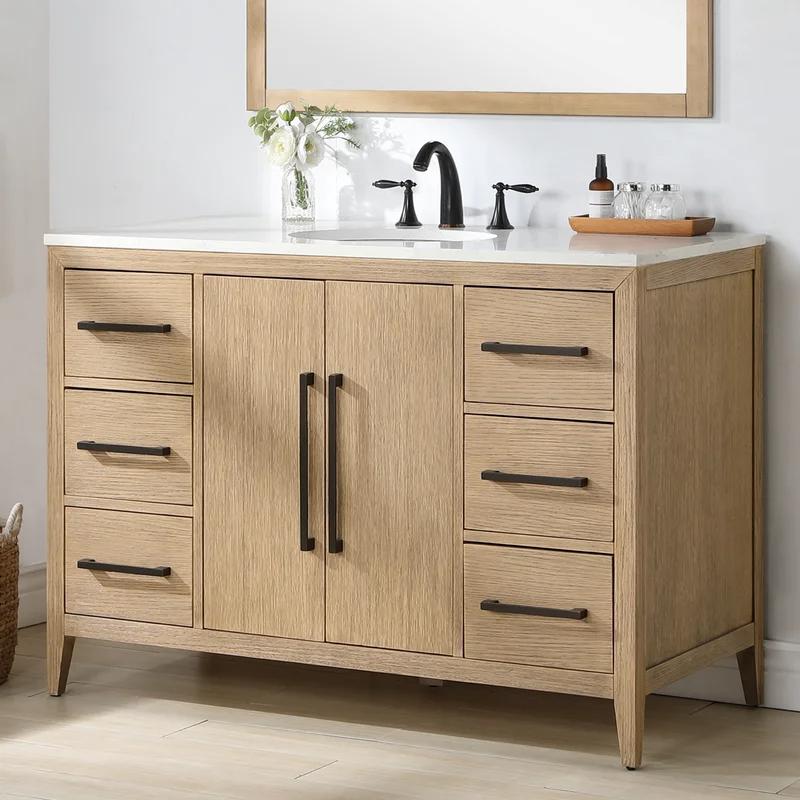 Alsup 48 Single Bathroom Vanity In, Bathroom Vanities Wayfair